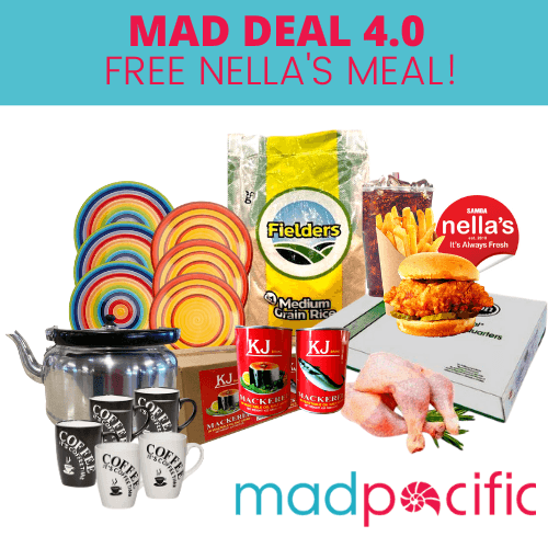 MAD DEAL 4.0 (with FREE NELLA's MEAL) - MADPACIFIC