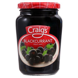 Craigs Blackcurrent Fruit Jam 375g