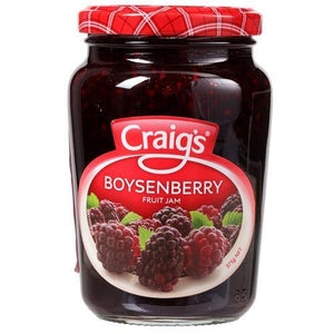 Craigs Boysenberry Fruit Jam 375g