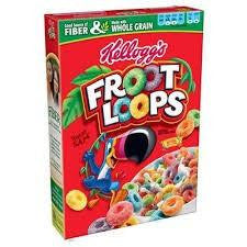 "Kellogg's Fruit Loops 286g ""New Arrival"""