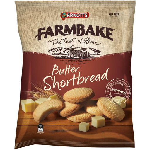 Arnotts Farmbake Butter Shortbread 350g - MADPACIFIC