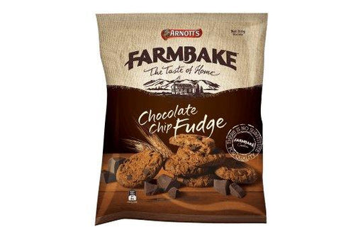 Arnotts Farmbake Choc Fudge Cookies 350g - MADPACIFIC