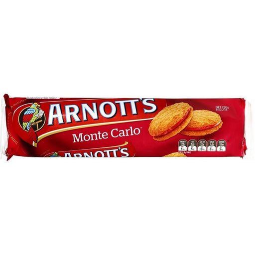 Arnotts Monte Carlo 200g - MADPACIFIC