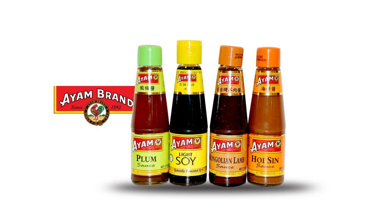 Ayam Sauces (Assorted Flavours) 210mls - MADPACIFIC