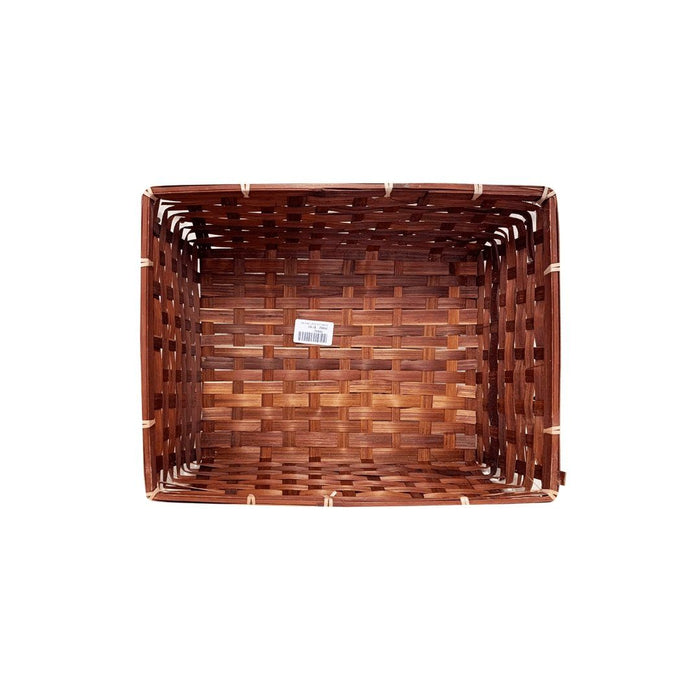 Bamboo Basket (Brown) - MADPACIFIC