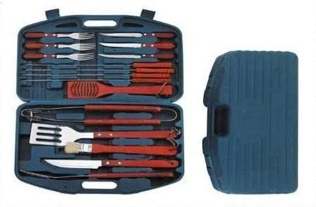 BBQ grill set (with green case) - MADPACIFIC