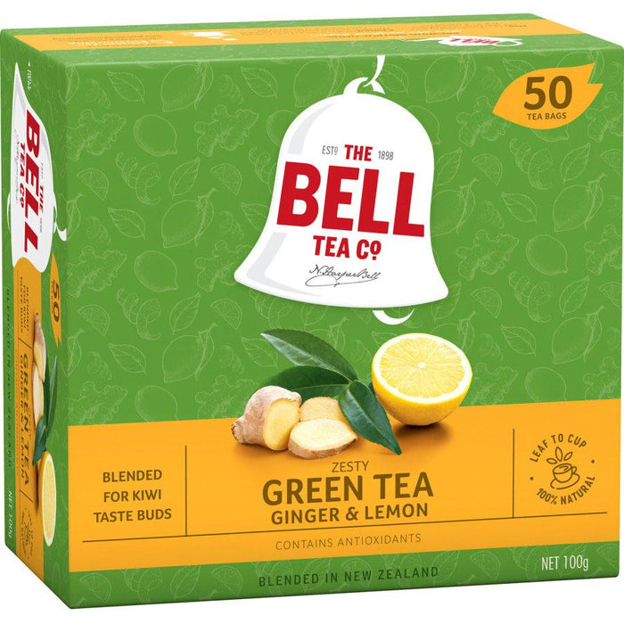 Bell Tea Lemon & Ginger 50s - MADPACIFIC