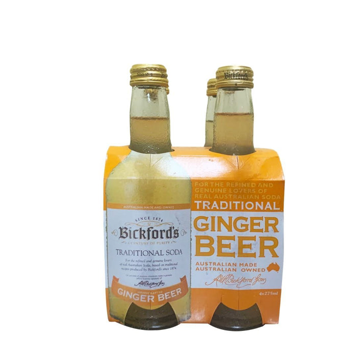 Bickford's Traditional Soda Ginger Beer (4 pack) - MADPACIFIC