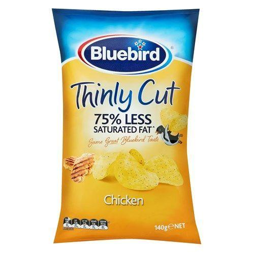 Bluebird Thinly Cut Potato Chips Chicken 150g - MADPACIFIC
