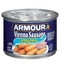 Armour Vienna Original Sausages 262g (Box of 12s)