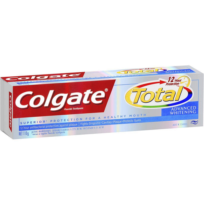 Colgate Total Toothpaste Advanced Whitening 110g - MADPACIFIC