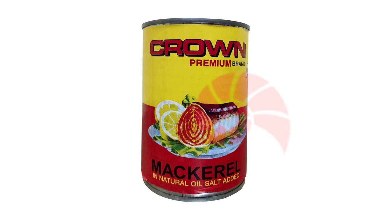 Crown Herring (Natural Oil) 425g - MADPACIFIC