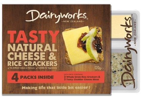 Dairyworks Jalapeño Cheese & Crackers 120g x 4 pack - MADPACIFIC