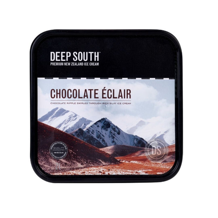 Deep South Ice Cream 2L (Chocolate Eclair) - MADPACIFIC