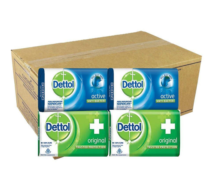 Dettol (Box) 65g x144 - MADPACIFIC