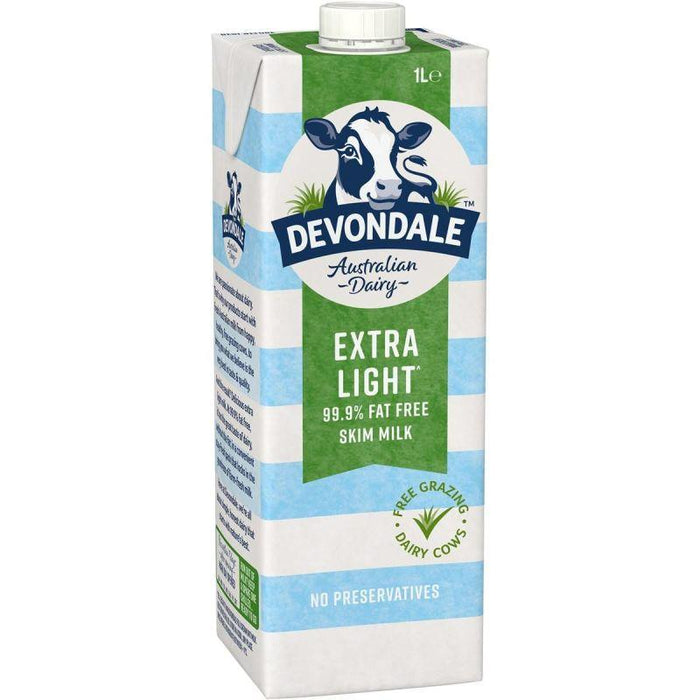 Devondale Milk Extra Light 1 L - MADPACIFIC