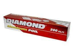 Diamond Aluminium Foil (Assort lengths) - MADPACIFIC
