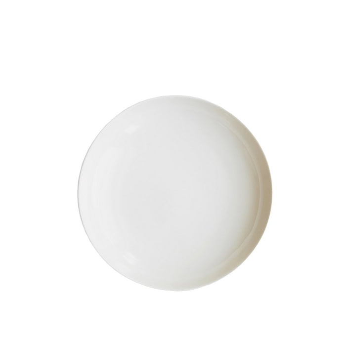 Dinner plate ceramic (plain-offwhite) - MADPACIFIC