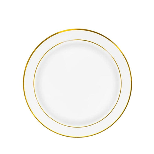 Dinner plate (with gold lining) - MADPACIFIC