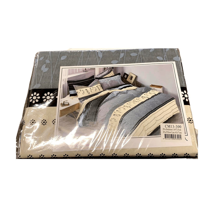 Double Bedding sets (1x double bedding sheet, 2x pillows) - MADPACIFIC