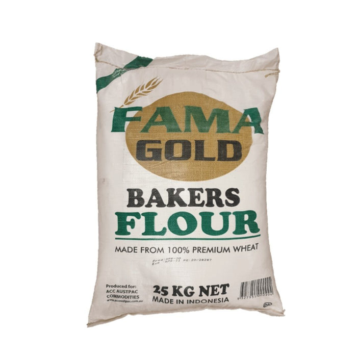 FAMA GOLD Bakers flour 25kg - MADPACIFIC