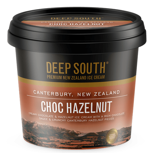 Deep South Ice Cream 450mls (Chocolate Hazelnut)