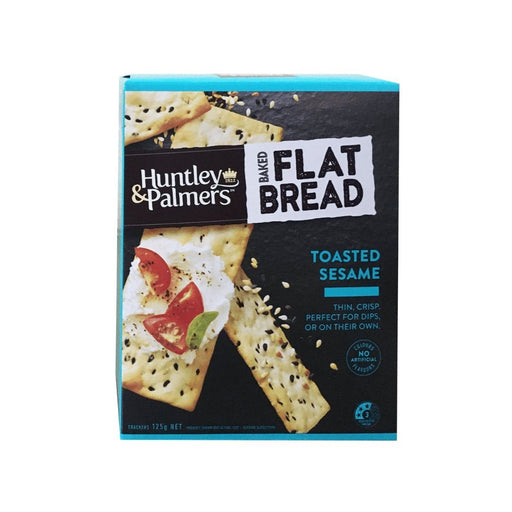 Huntley & Palmer crackers 125g (Toasted Sesame) - MADPACIFIC