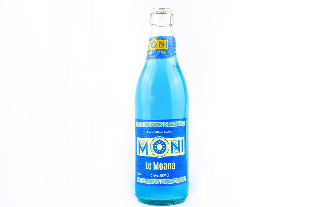 Moni Alcoholic Soda (Le Moana) 355ml