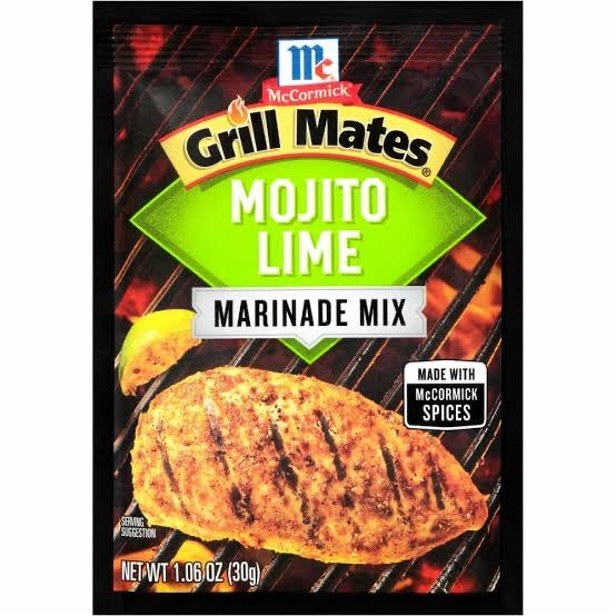 Grill Mates Marinate 30g (Assorted flavours)