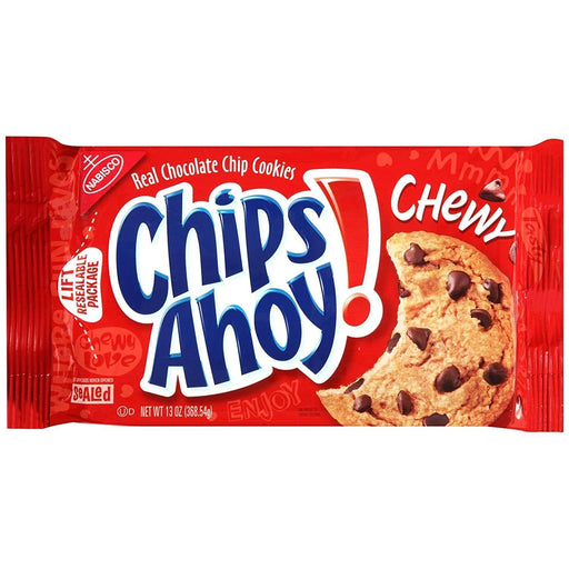 Nabisco Chip Ahoy Chewy Cookies 13oz - MADPACIFIC