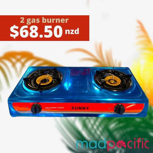 2 GAS BURNER MAD DEAL - MADPACIFIC