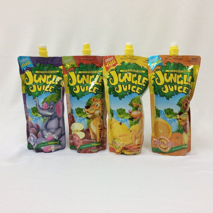 Jungle Juice 500mls (Assorted Flavours) - MADPACIFIC