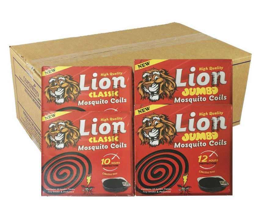 Lion Mosquito Coil (Box x60 packs) - MADPACIFIC