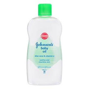 Johnsons Baby Oil Aloe + Vite - E 500ml