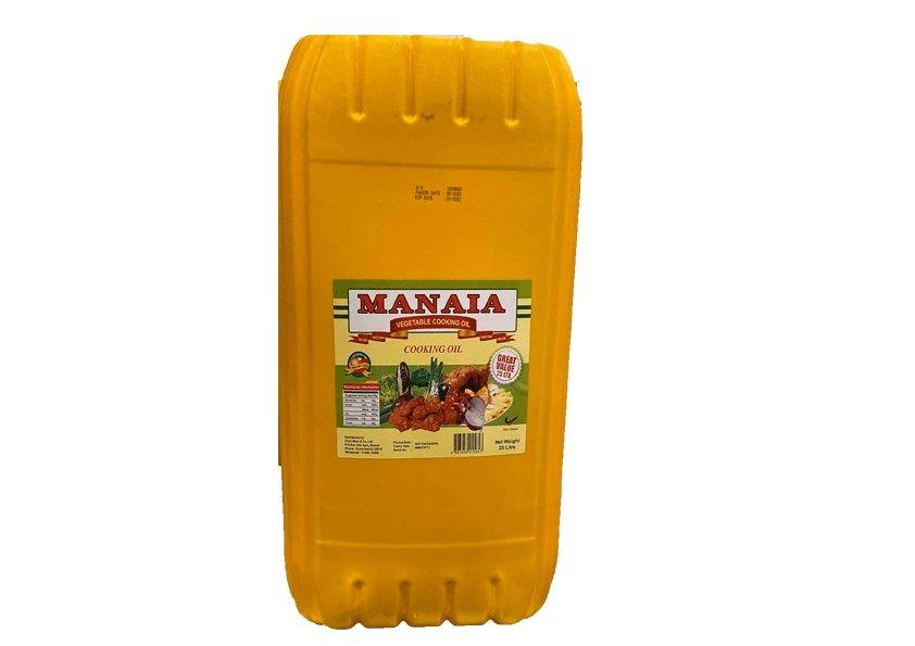 Manaia Cooking Oil 25L - MADPACIFIC