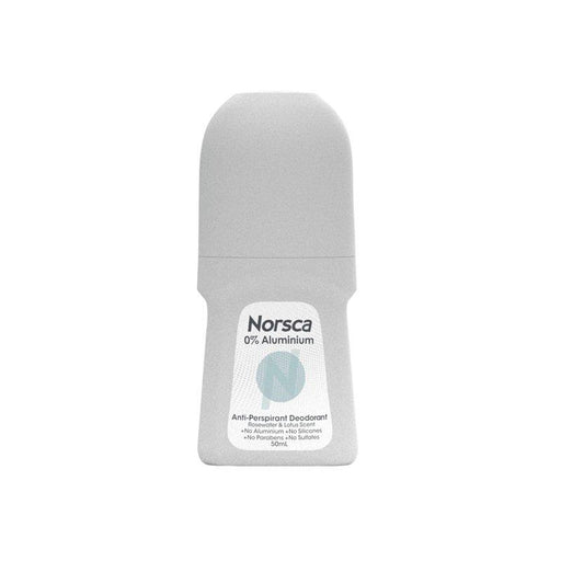 Norsca Roll on deodrant rosewater 50mls - MADPACIFIC