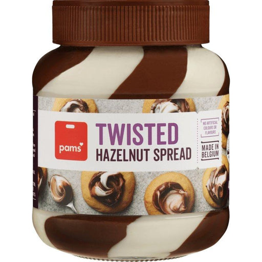 Pam's hazelnut twist spread 400g - MADPACIFIC
