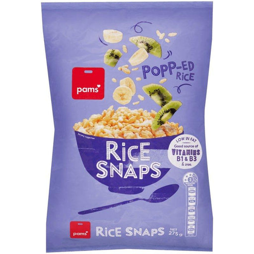 Pam's rice snaps cereal 460g - MADPACIFIC