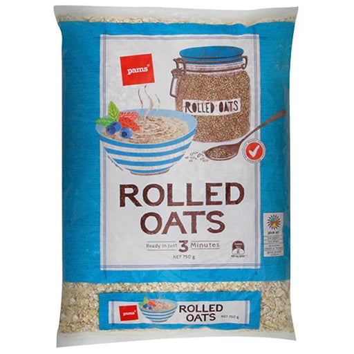 Pams Rolled Oats 750g - MADPACIFIC