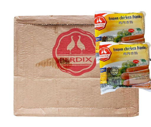 Perdix Chicken Franks (Box) 24x 10 chicken franks SAMOASUPERMARKET