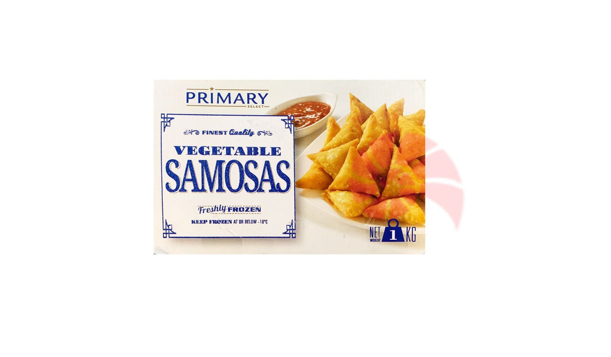 Primary Vegetable Samosas 1kg - MADPACIFIC