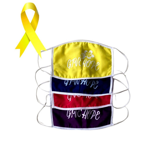 Samoa Cancer Society - Face Masks (Assorted colours) - MADPACIFIC