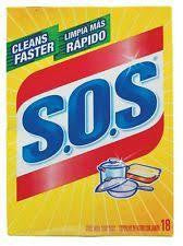 SOS Soap Pads Stainless 18's
