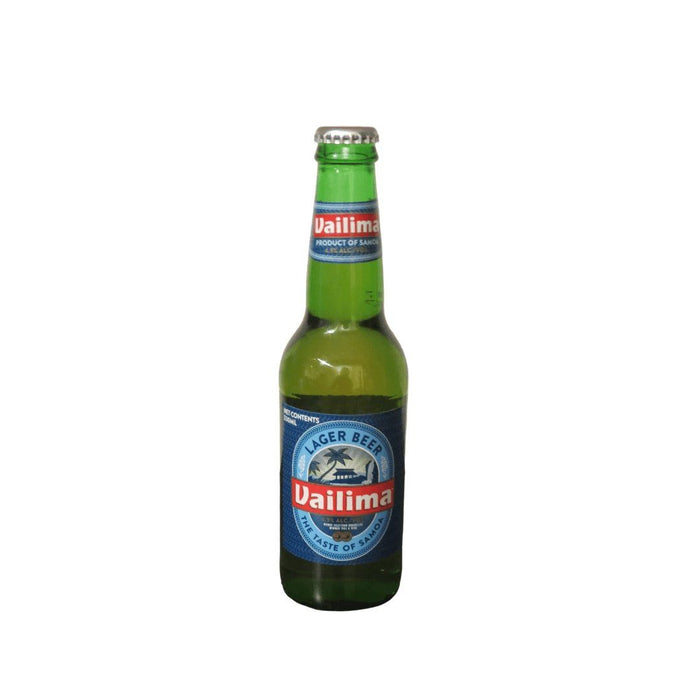 Vailima Lager Beer 355ml - MADPACIFIC