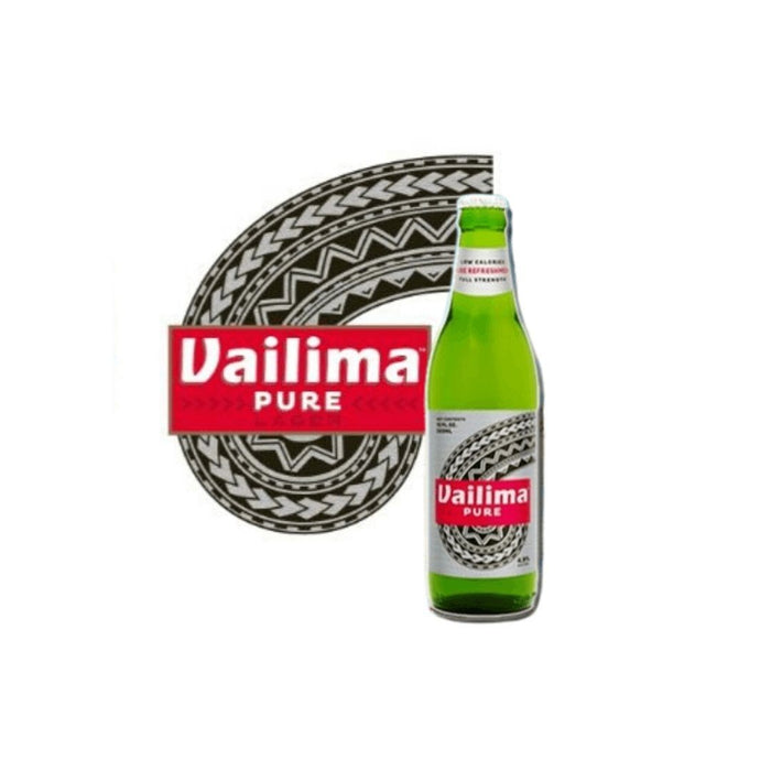 Vailima Pure Beer 355ml (Box 24's) - MADPACIFIC