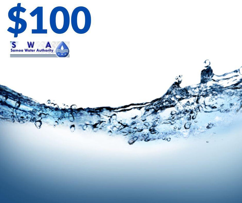 Water bill payment $100 - MADPACIFIC