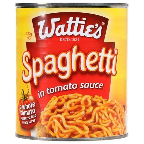 Watties Spaghetti 820g - MADPACIFIC