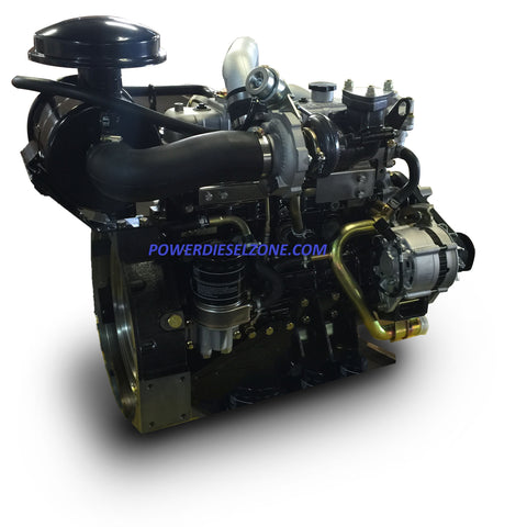 ISUZU ®  4JB1T Long Block PLUS/EXTENDED Diesel Engine