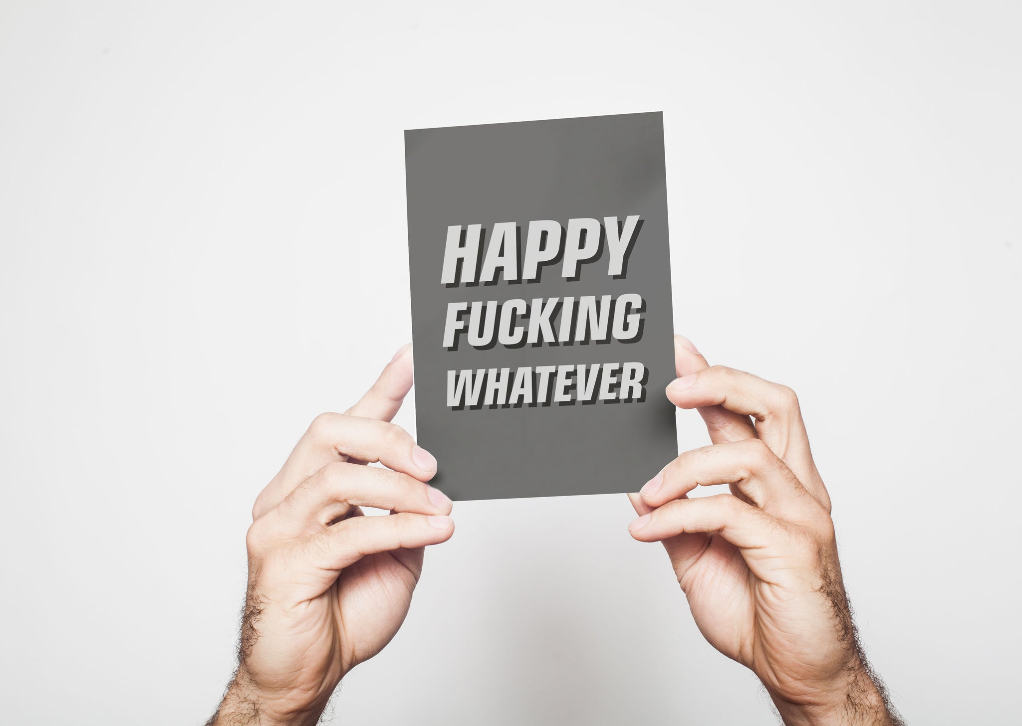 Happy fucking whatever