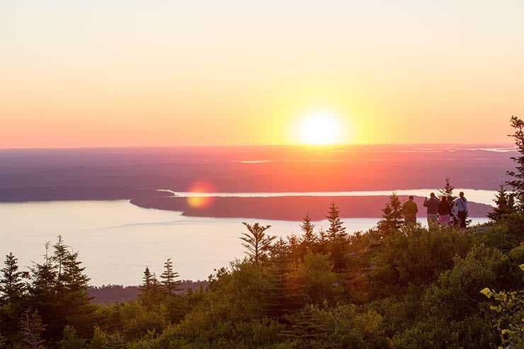 A Sunrise in Acadia